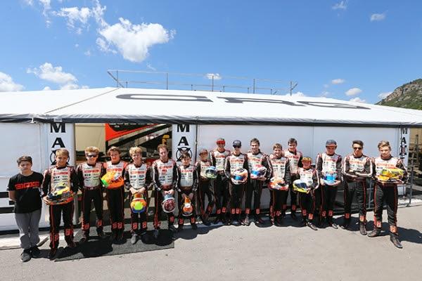 CRG Racing Team euro round 1
