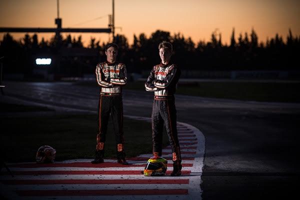 Flavio Camponeschi and Dennis Hauger, OK