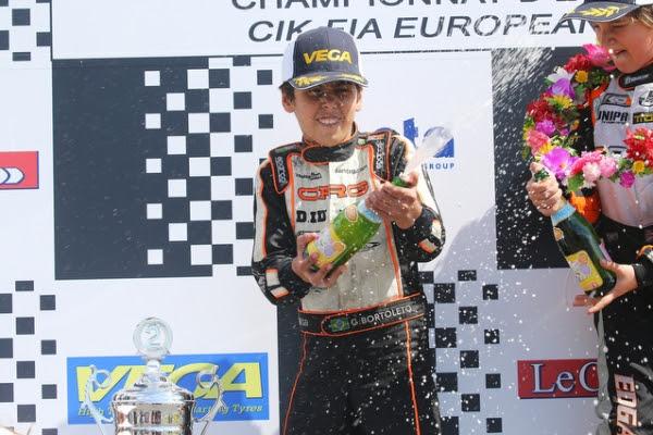 Gabriel Bortoleto, OK-Junior maden win