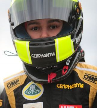 Sofia Zanfari achieved her first podium of the 2017 driver photo