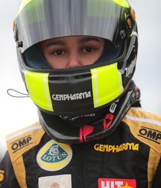 Sofia Zanfari achieved her first podium of the 2017 driver photo