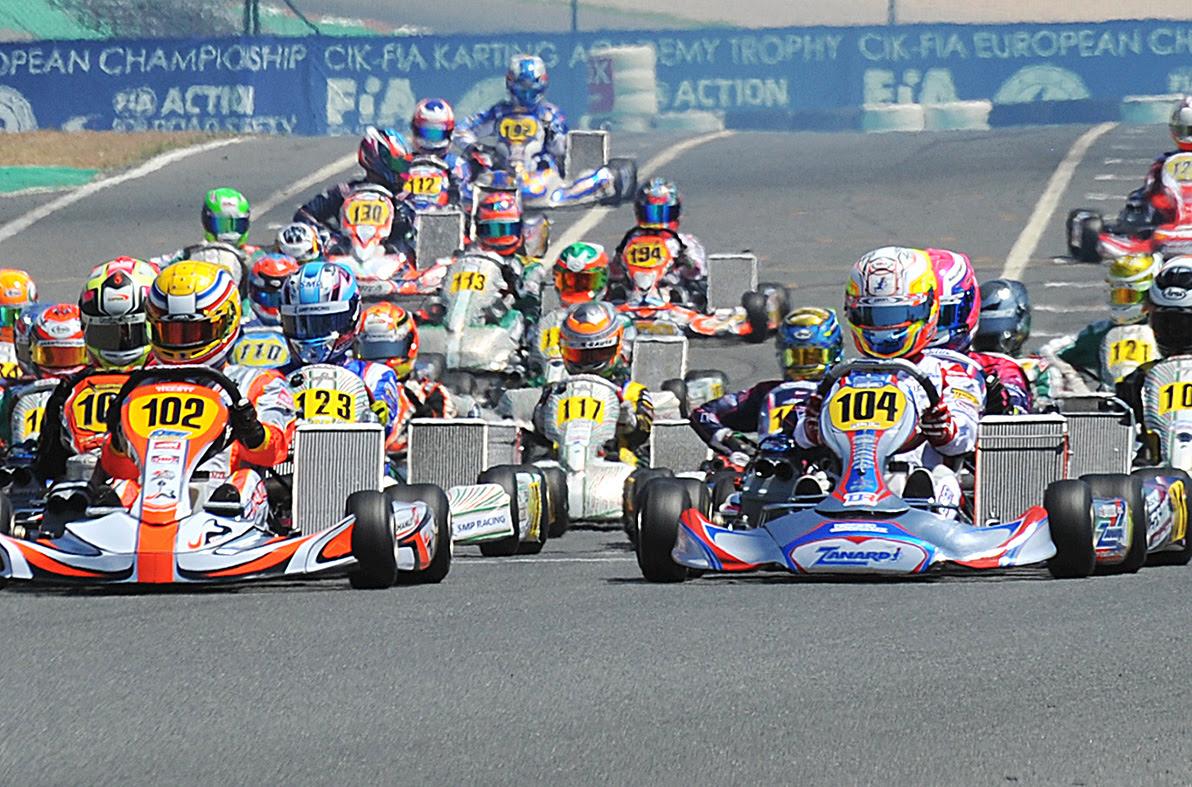 The European CIK-FIA Championship for KZ, OK and OK Junior is ready to start.