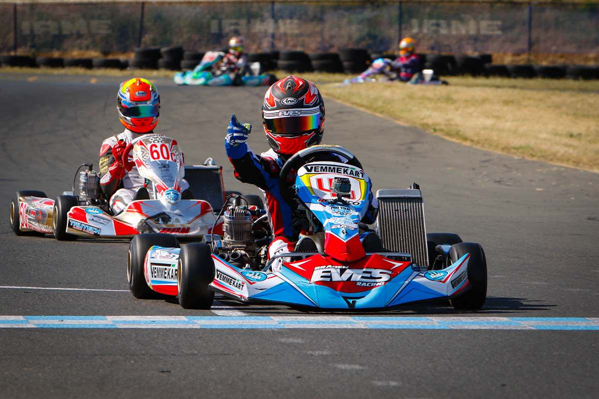 BRADEN EVES VICTORIOUS IN SONOMA WITH VEMME KART
