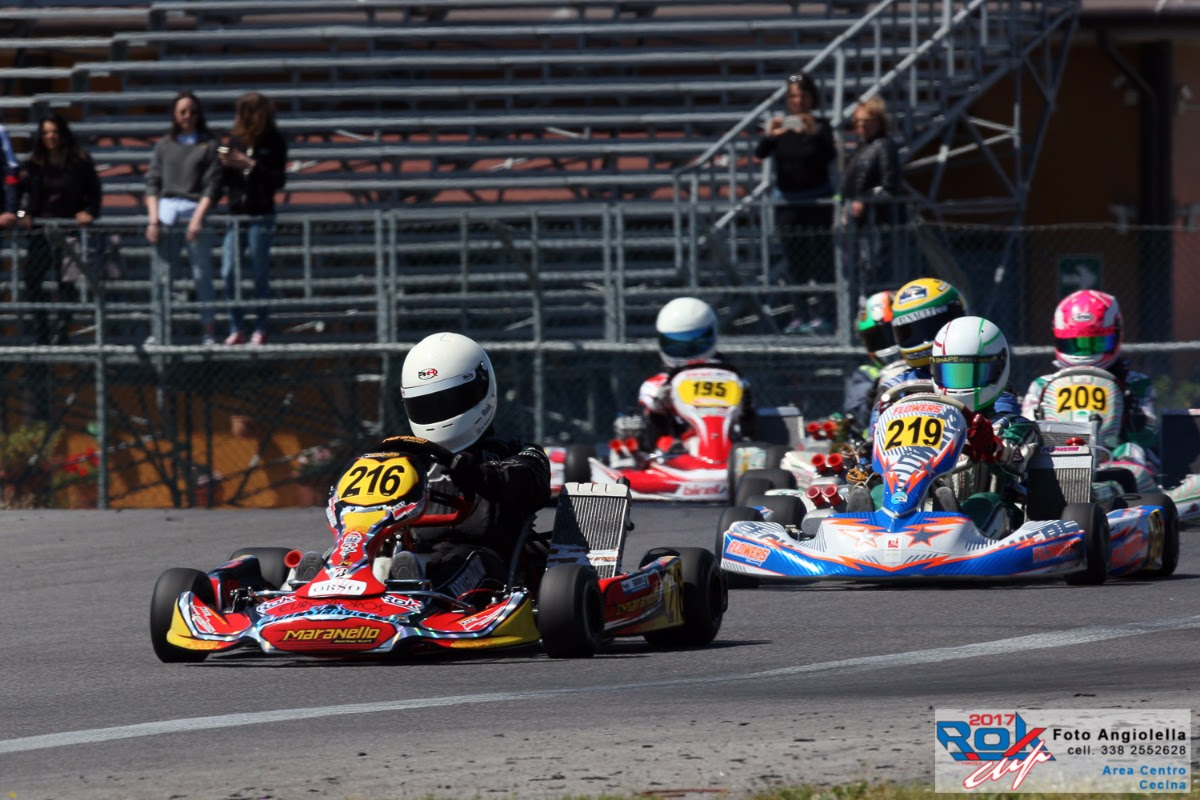 GOOD RESULTS AND PODIUMS IN CECINA FOR MARANELLO KART