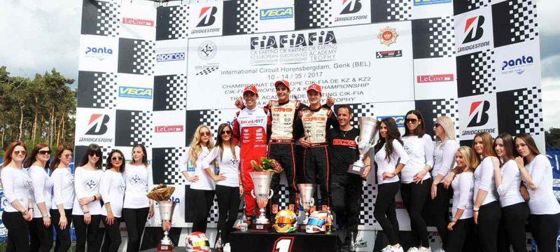 De Conto bids for the KZ title.