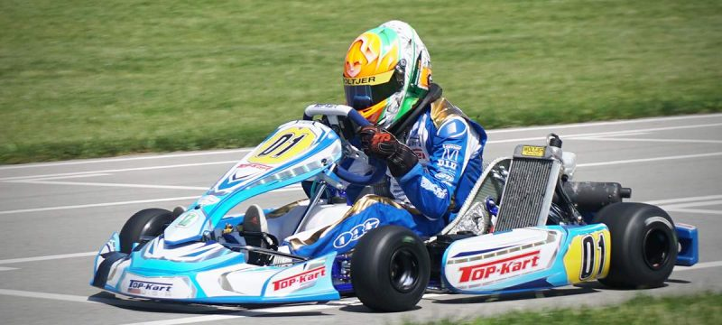 FOUR WINS FOR TOP KART USA IN PITTSBURGH