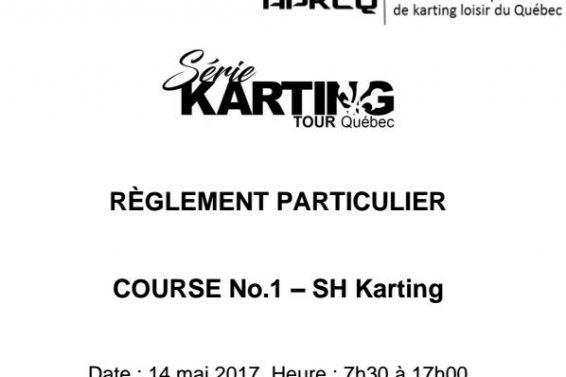 Reglement Particulier SKTQ-SH Course 1