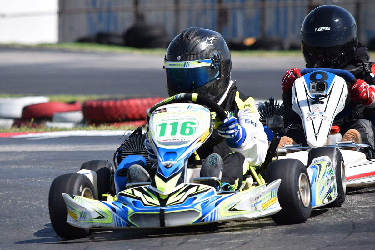 TRACKSIDE KARTING SERVICES SHOWS SPEED IN TEXAS SPRINT RACING SERIES