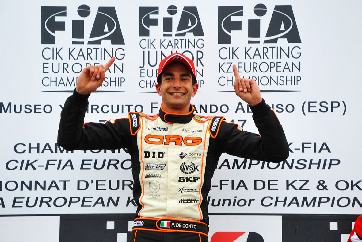 The race in the CIK-FIA European Champ standings continues.
