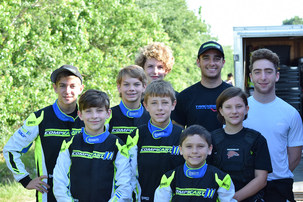 STRONG SHOWING FOR TRACKSIDE KARTING SERVICES  AT TEXAS PROKART CHALLENGE