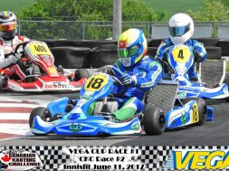 Vega Cup debuts at Innisfil Indy circuit