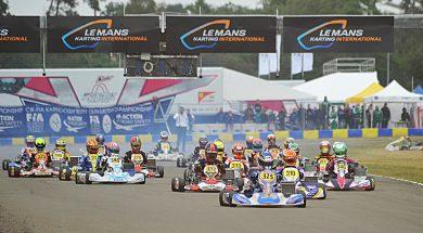 KARTING CIK-FIA EUROPEAN CHAMPIONSHIPS KZ2 – OK – OK JUNIOR AND ACADEMY TROPHY AT LE MANS