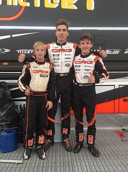 GOOD PERFORMANCE FOR CRG DRIVERS IN VENDRELL