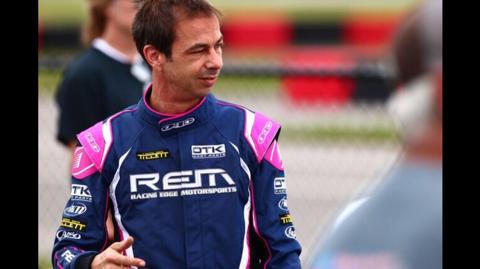 Simon Belanger the driver
