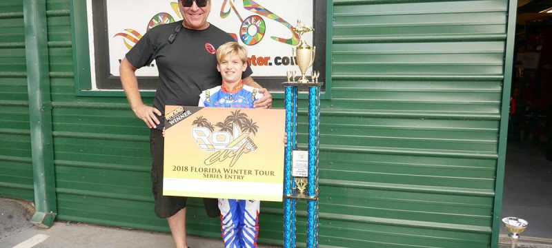 Speed Concepts Racing celebrates in Orlando as they look forward to WKA Daytona (Photo Speed Concepts Racing)