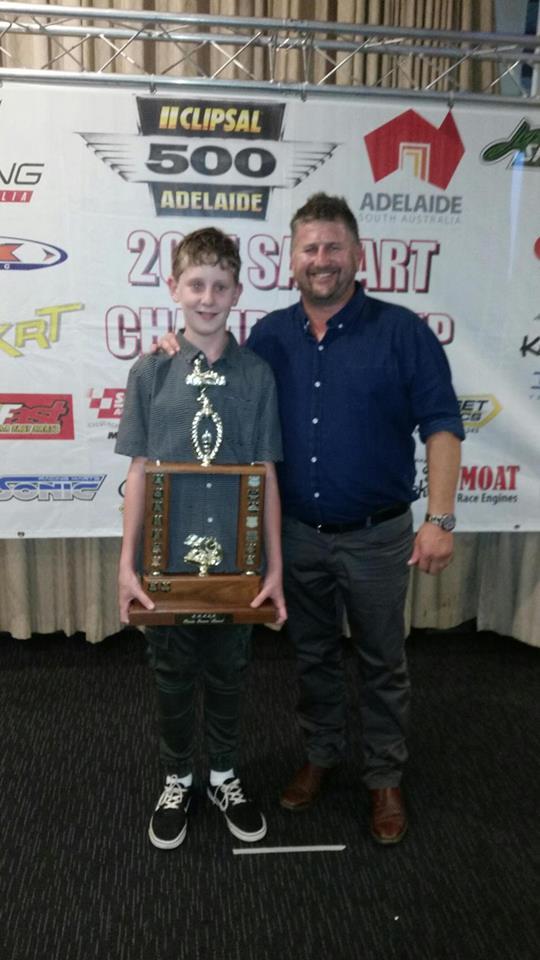 Brayden Stewart Recieves Kevin Jenner Sportsmanship Award