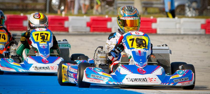 Arias Deukmejian Wins for Speed Concepts Racing at SKUSA Winter Series