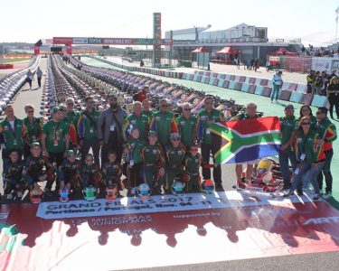SOUTH AFRICAN TEAM HEADS FOR THE ROTAX WORLD CHAMPIONSHIP OF KARTING