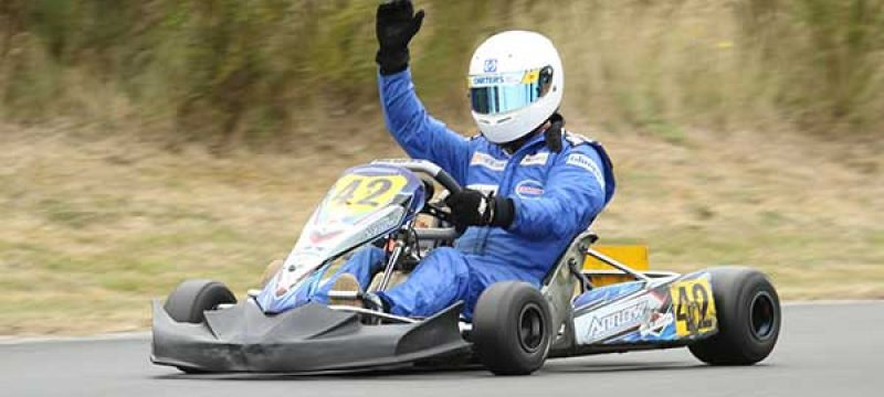 Karters Go for Gold at NZ Masters Games