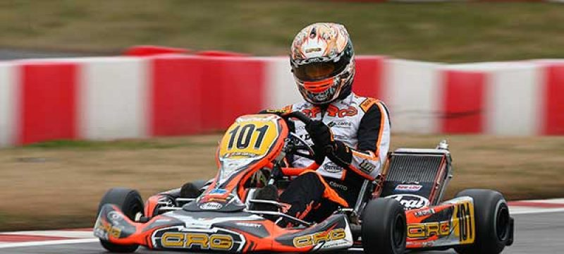Two Podiums for CRG at Winter Cup