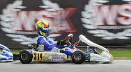 WSK SUPER MASTER SERIES HEADING FROM MURO LECCESE TO SARNO