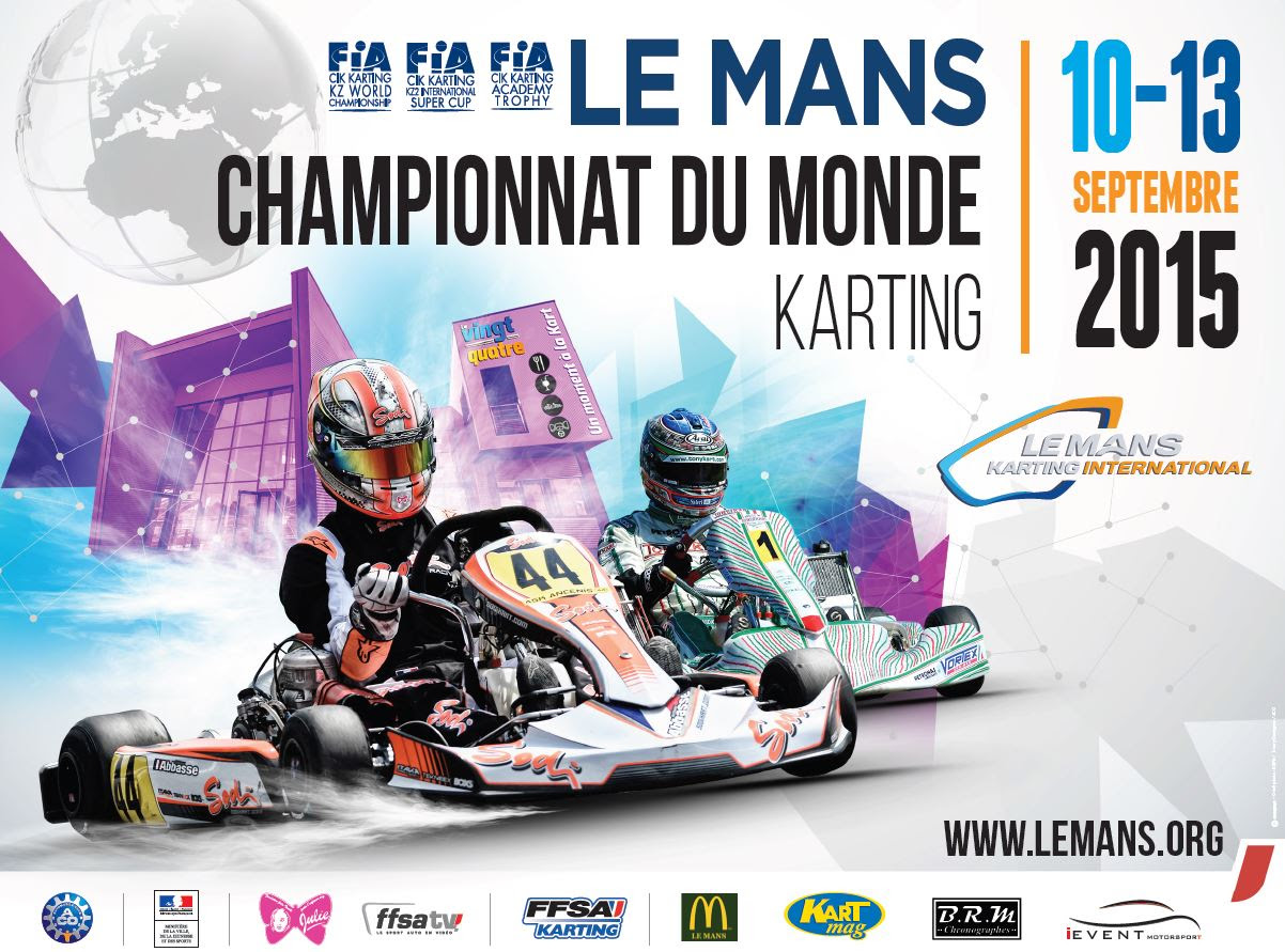 The World Karting Championship  returns to Le Mans
