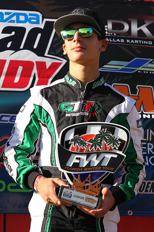 ANTHONY GANGI JR. NAMED AS FINALIST FOR THE MAZDA ROAD TO INDY AND MAXSPEED GROUP DRIVER ADVANCEMENT PROGRAM