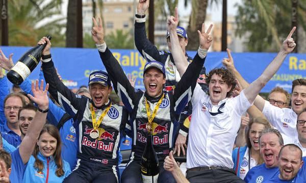 Volkwagen Rally win Andreas Mikkelsen