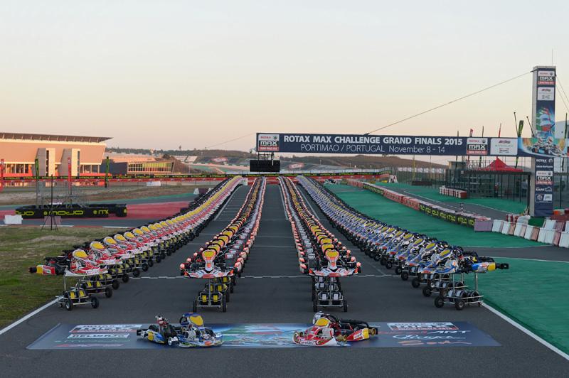 2015 Karts line up for the Rotax Grand Finals2015 Karts line up for the Rotax Grand Finals