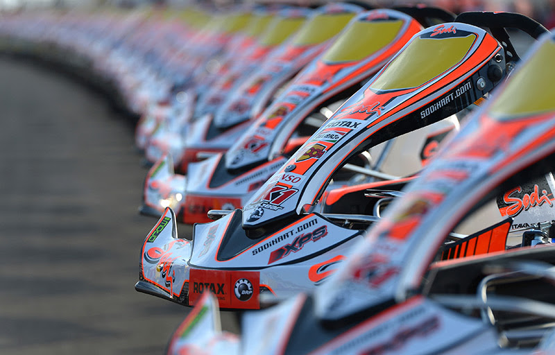 Sodi: 154 karts for ROTAX World Finals!