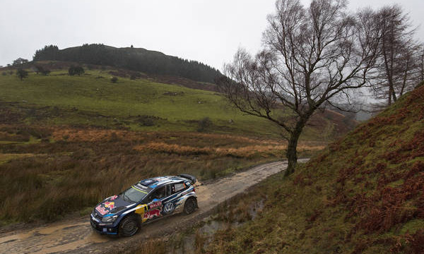 Ogier victorious at the Rally Great Britain