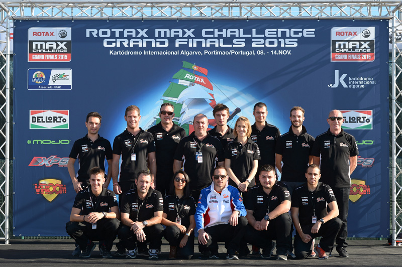 Sodikart Building team for the Rotax Grand Finals 2015