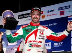 Tiago Monteiro Trophy in Buriram