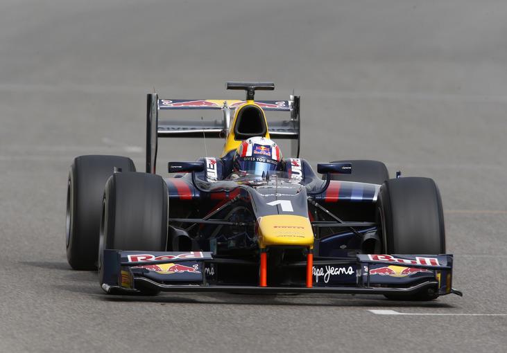 Abu Dhabi GP2 DAMS last race of the season