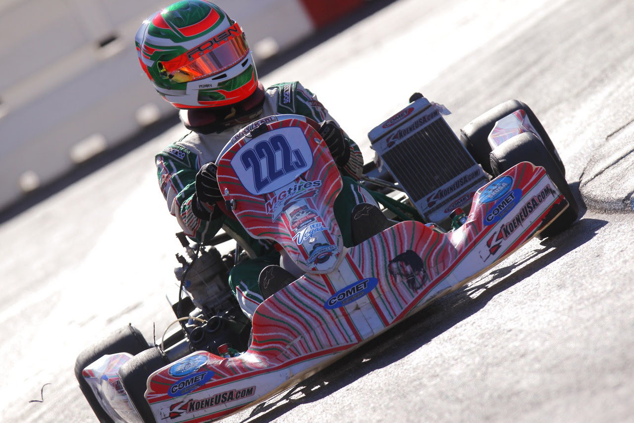 TEAM KOENE USA ADDS ZACH HOLDEN FOR 2016 KARTING SEASON