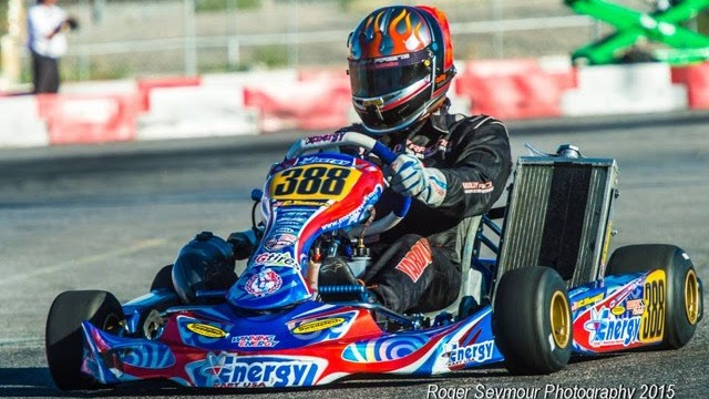 A host of Energy Kart USA drivers will hit the track this weekend in Phoenix (Photo Roger Seymour Photography)