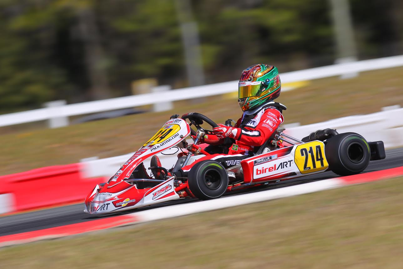 Oliver Askew Untouchable in DD2 with Dylan Tavella On The Podium For PSL Karting.