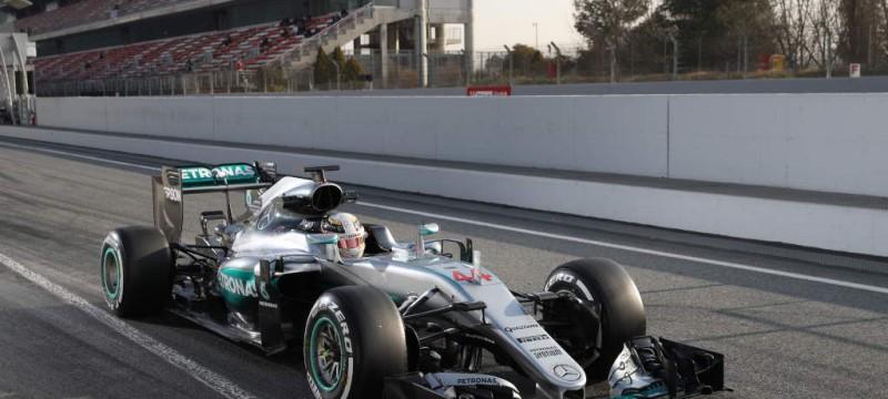 Lewis hamilton day 4 of pre season testing