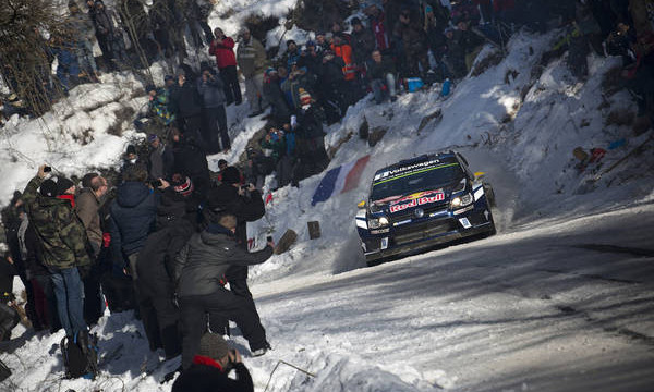Winter sport, rally style volkswagen full of ambition ahead of unique WRC Round in Sweden
