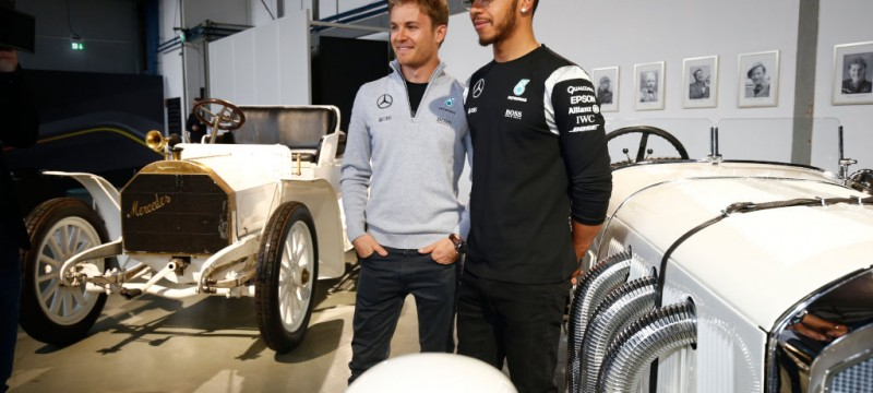 Formula One & DTM drivers ready for challenging new season F1 drivers Nico and Lewis