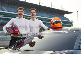 McLaren selects Mitchell and Haggerty to campaign Black Bull Ecurie Ecosse 570S GT4