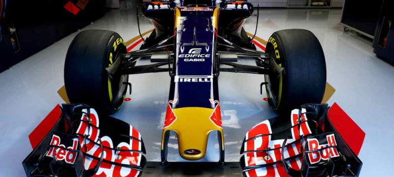 Scuderia Toro Rosso STR11 up close