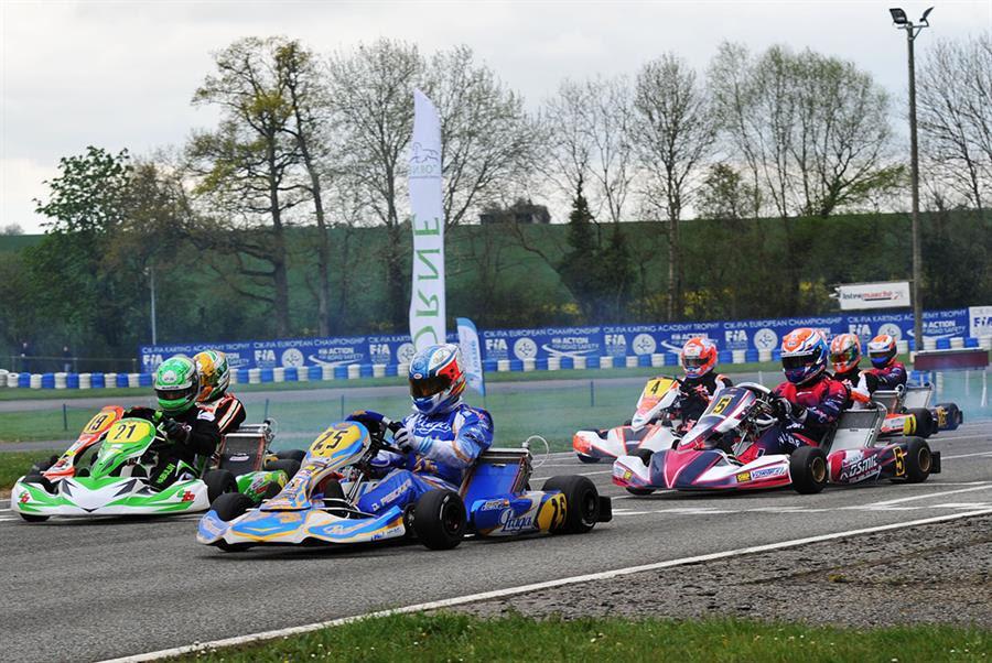 CIK-FIA EUROPEAN CHAMPIONSHIP KZ & KZ2 IN ESSAY (F) – QUALIFYING HEATS