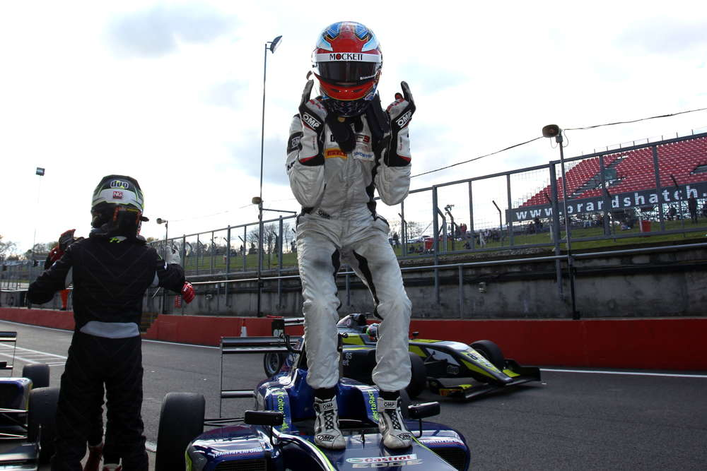 Sowery and Herta take maiden BRDC British F3 wins on Sunday at Brands Hatch