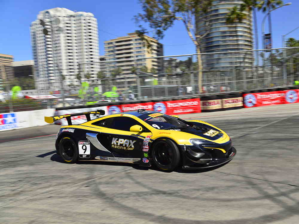 McLAREN 650S GT3 TAKES VICTORY IN LONG BEACH AS 570S GT4 MAKES SUCCESSFUL RACE DEBUT