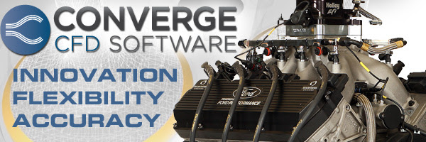 Roush Yates Engines Announces Technical Partnership with Convergent Science