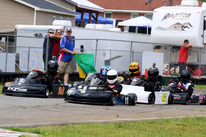 AKRA and Racers Enjoy Great Weekend at Barnesville