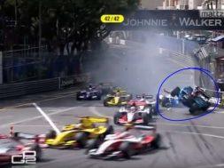 GP2 Monaco crash compilation