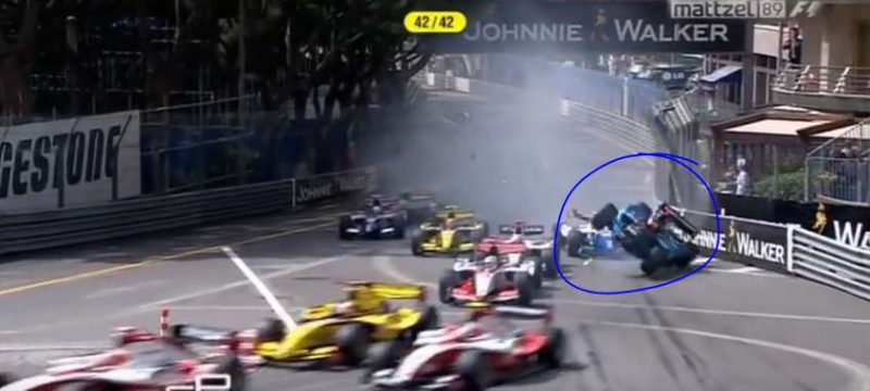 GP2 Monaco crash compilation