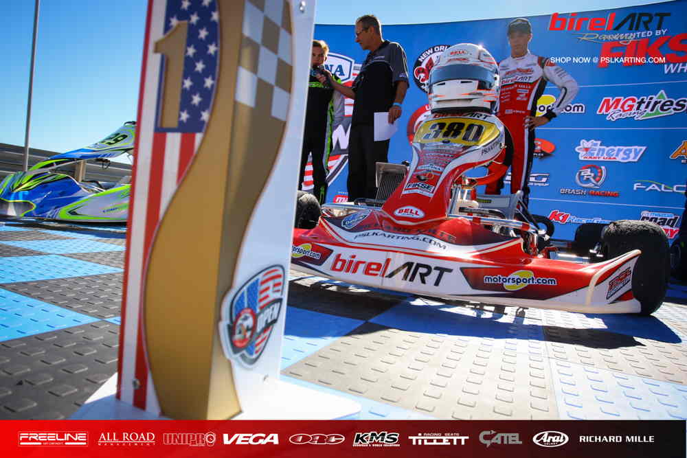 Four wins for PSL & Birel ART in Utah
